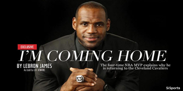 Lebron James Going to Cleveland