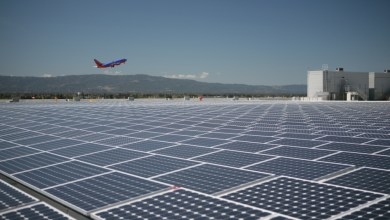 Photo of India's first Solar Power Airport
