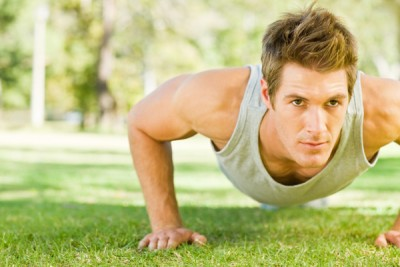 Some guys go for a heavy work out regime, to release their emotional stress with sweat.