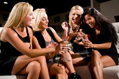 Girls love to spend times with friends as her girls' gang give her the impression that she is still important to other people.