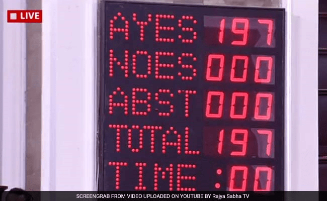 Source: Rajya Sabha TV