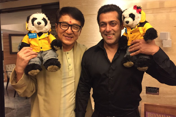Salman Khan and Jackie Chan