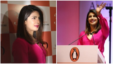 Photo of Priyanka Chopra delivers the 11th Penguin Annual Lecture