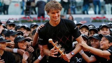 "Photo of ""Hopefully I can continue this kind of streak in Rome,"" – Zverev"