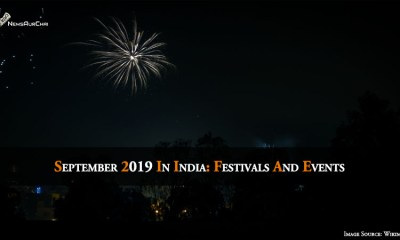 September 2019 In India: Festival And Events