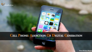 Photo of Cell Phone: Addiction of Digital Generation