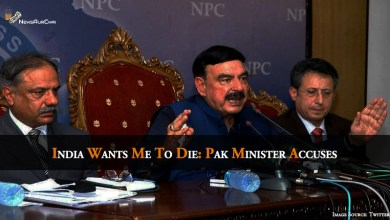 "Photo of ""India Wants Me To Die"": Pak Minister Accuses"