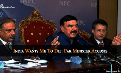 """""""India Wants Me To Die"""": Pak Minister Accuses"""