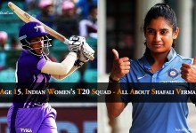 Photo of Age 15, Indian Women's T20 Squad – All About Shafali Verma
