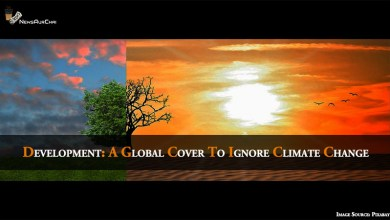 Development - A Global Cover to Ignore Climate Change