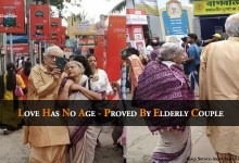 Love Has No Age - Proved By Elderly Couple