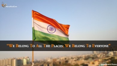 "Photo of ""We Belong To All The Places; We Belong To Everyone"""
