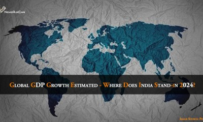 Global GDP Growth Estimated - Where Does India Stand-in 2024?