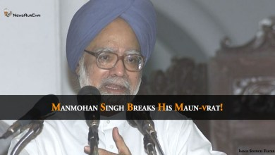 Photo of Manmohan Singh Breaks His Maun-vrat
