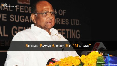 "Photo of Sharad Pawar Admits His ""Mistake"""