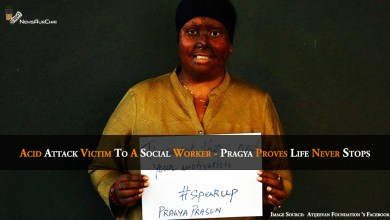 Photo of Acid Attack Victim To A Social Worker – Pragya Proves Life Never Stops