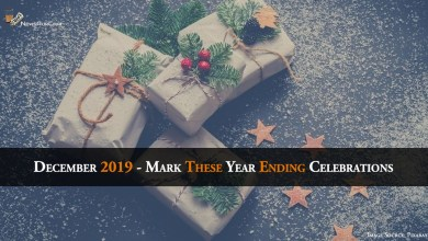 December 2019 - Mark These Year Ending Celebrations