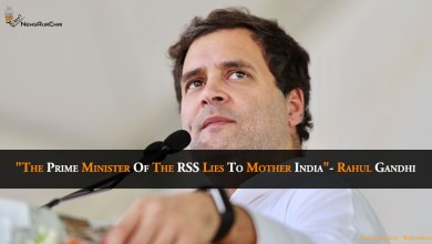 "Photo of ""The Prime Minister of the RSS lies to Mother India""- Rahul Gandhi"