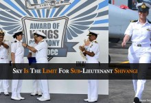 Sky Is The Limit For Sub-Lieutenant Shivangi