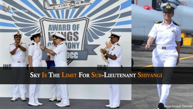 Photo of Sky Is The Limit For Sub-Lieutenant Shivangi
