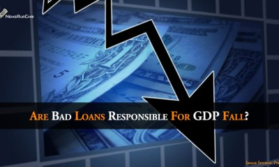 Are bad loans responsible for GDP fall?
