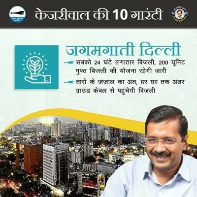From Less Pollution to 24*7 Drinking Water: 10 Promises of AAP