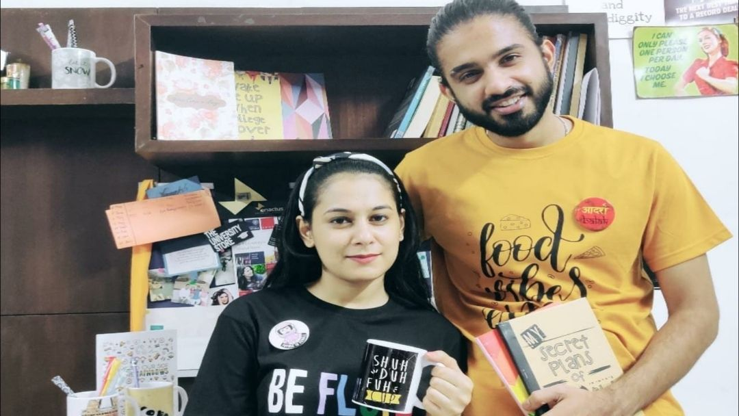 Co-founder siblings Samaksh and Saloni Malhotra have grown the business leaps and bounds to fulfilling requirements of college students across India.