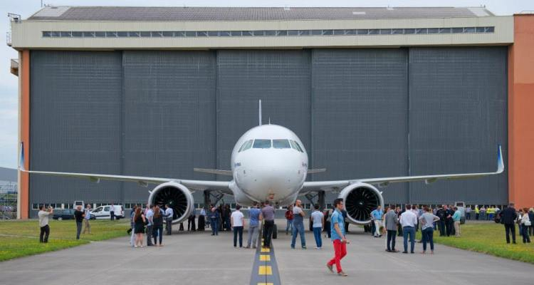 A320 neo Roll Out 2