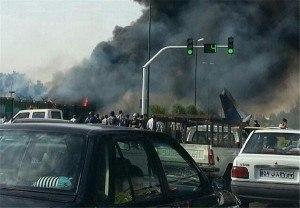 Desastre com avião iraniado Hesa IrAn-140