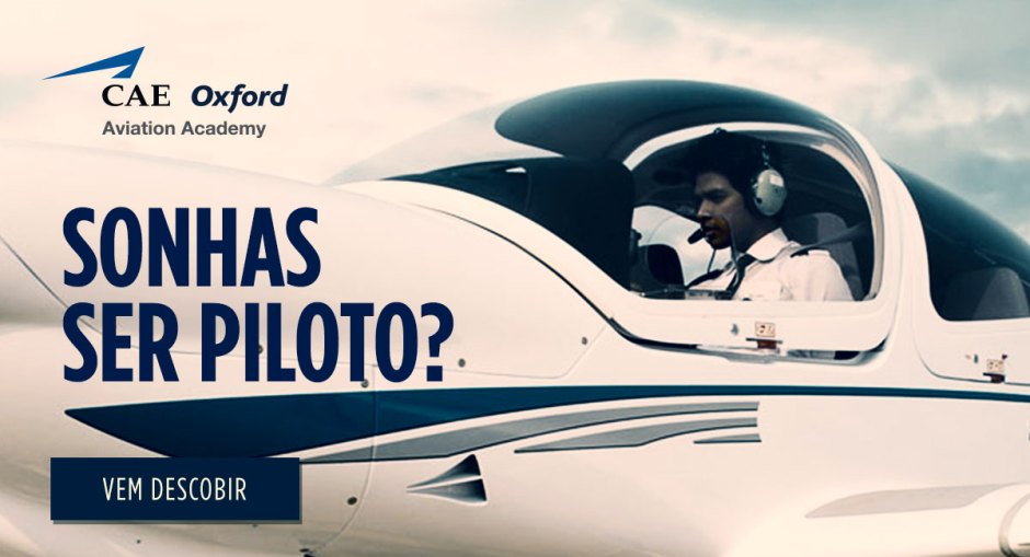 Sonhas ser Piloto? Oxford Academy Aviation