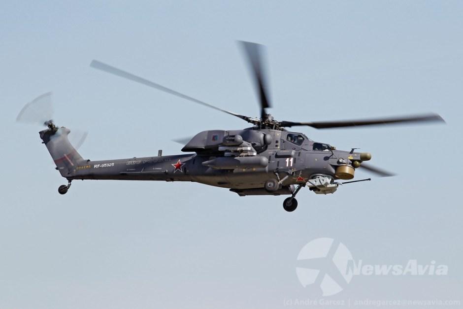 Helicóptero de ataque Mil Mi-28N.