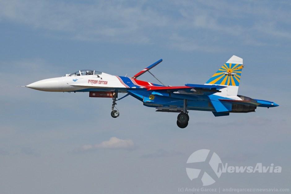 Sukhoi Su-27, o equivalente ao F-15 americano.