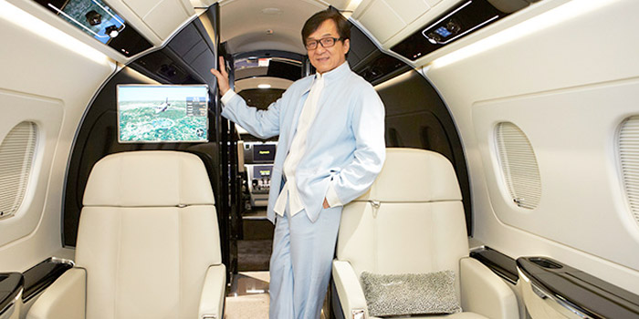 Embraer-Legacy---Jackie-Chan-Interior