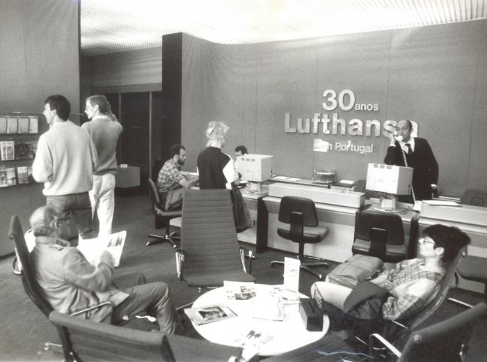 30 anos Lufthansa em Portugal