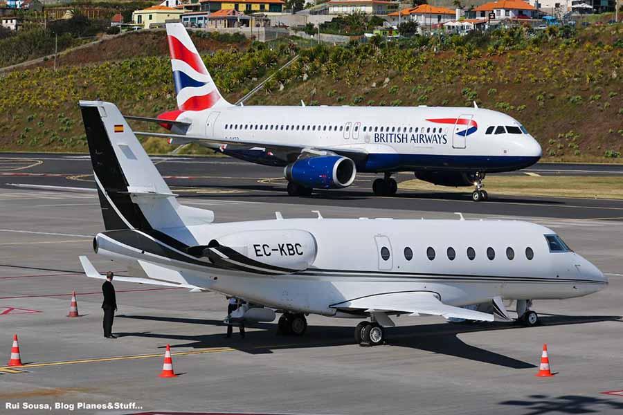 Newsavia A320 Da British Foi O 1º Aviao Comercial No Aeroporto