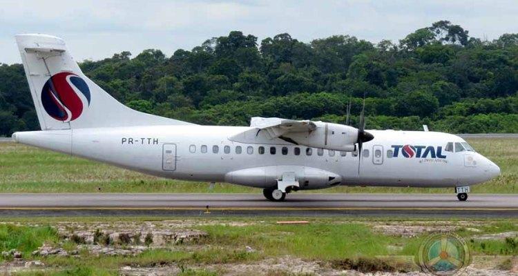 [Brasil] ATR42-500 Da Total Saiu De Pista Na Floresta Amazónica – Ocupantes Ilesos Total-ATR42-500-%C2%A9MSTeam