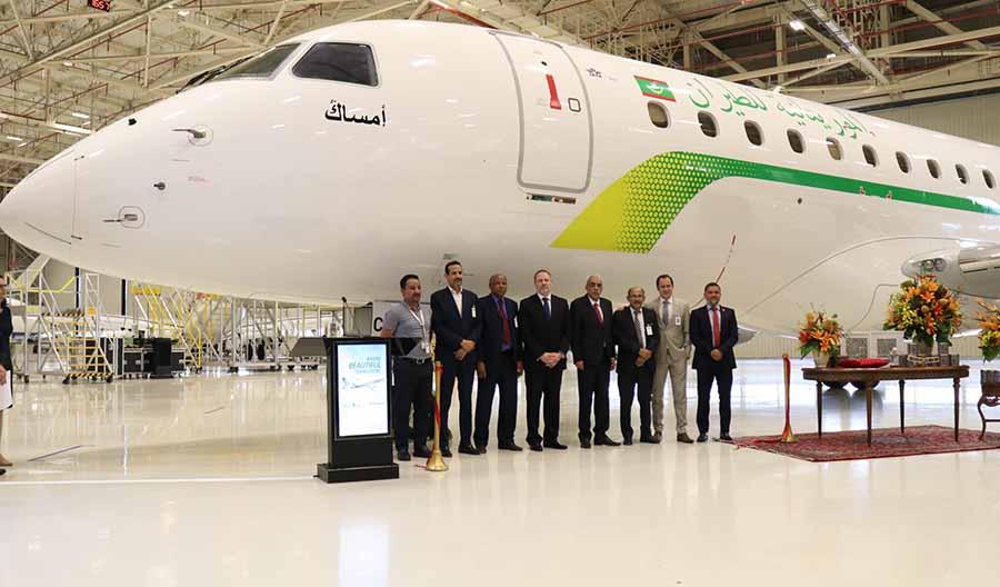 Resultado de imagen para Mauritania Airlines E175