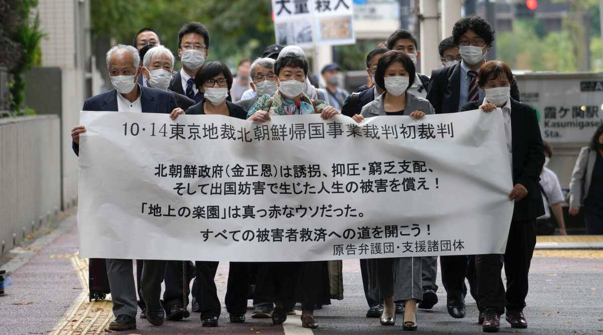 In Japanese court, 5 ask North Korea to pay for their suffering