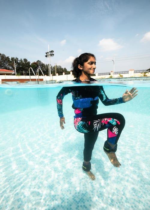 बढ़ती ऊंचाई के लिए तैराकी