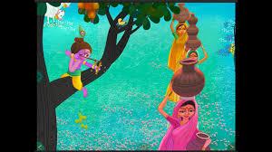 chote bacho ke liye shri bal krishna kahani in hindi - little krishna story in hindi written with moral