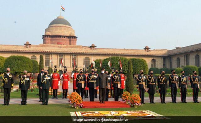 पीएम मोदी, अन्य मंत्री राष्ट्रपति कोविंद के गणतंत्र दिवस समारोह में भाग लेंगे
