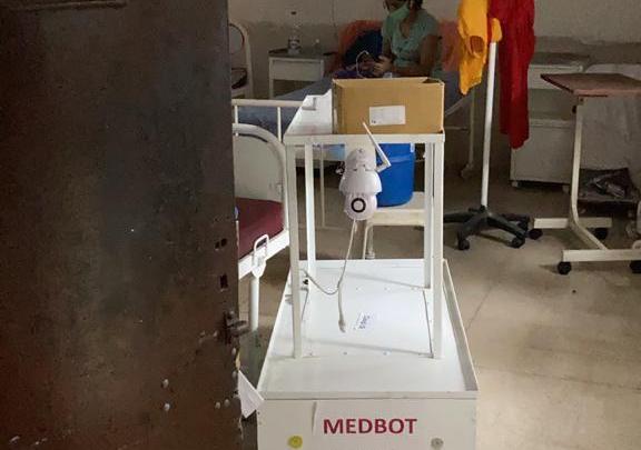 MEDBOT donated to COVID Hospital