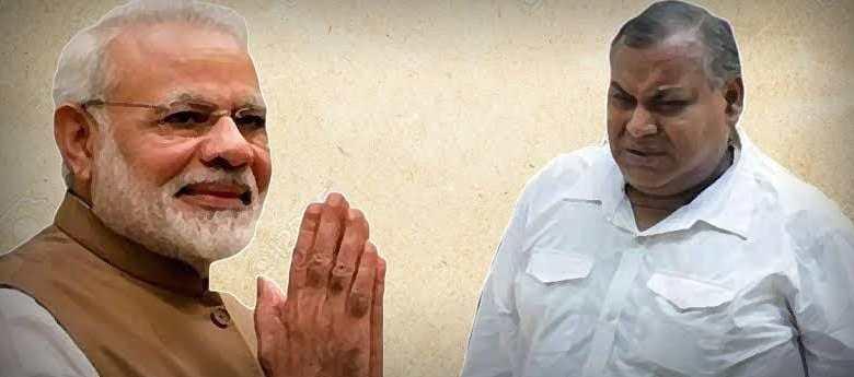 Modi's proposer Dom Raja Dies
