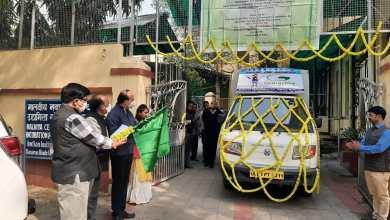 IIT (BHU) Director Flags off Shop-on-wheels
