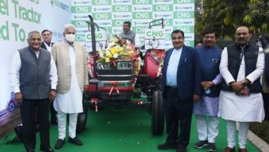 Gadkari launches India's first Diesel-converted CNG Tractor