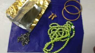Customs team seizes Gold at LBS-International-Airport
