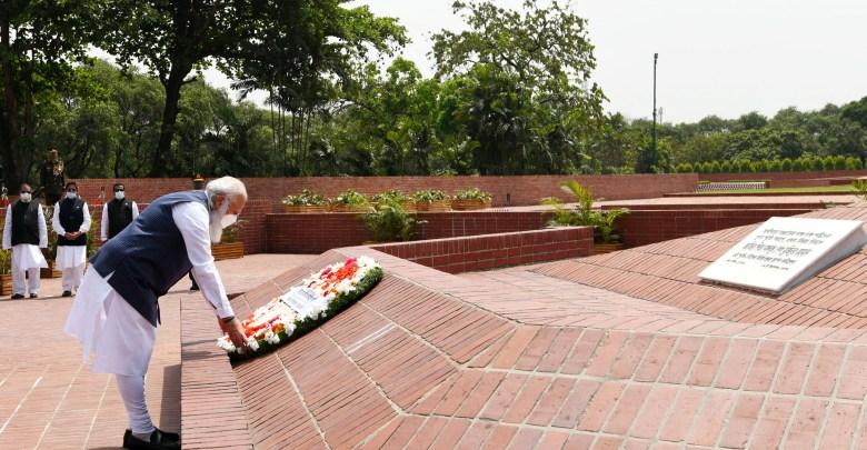 PM Modi on a two-day visit to Bangladesh