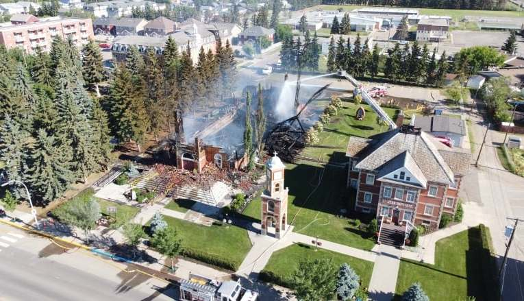 CBC News:Residential school survivors call for an end to arson attacks on churches
