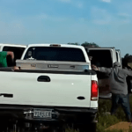 Texas dashcam shows illegal immigrants pour out of smuggler's car after pursuit