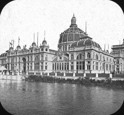 Chicago World's Columbian Exposition in 1893 U.S. Government Building